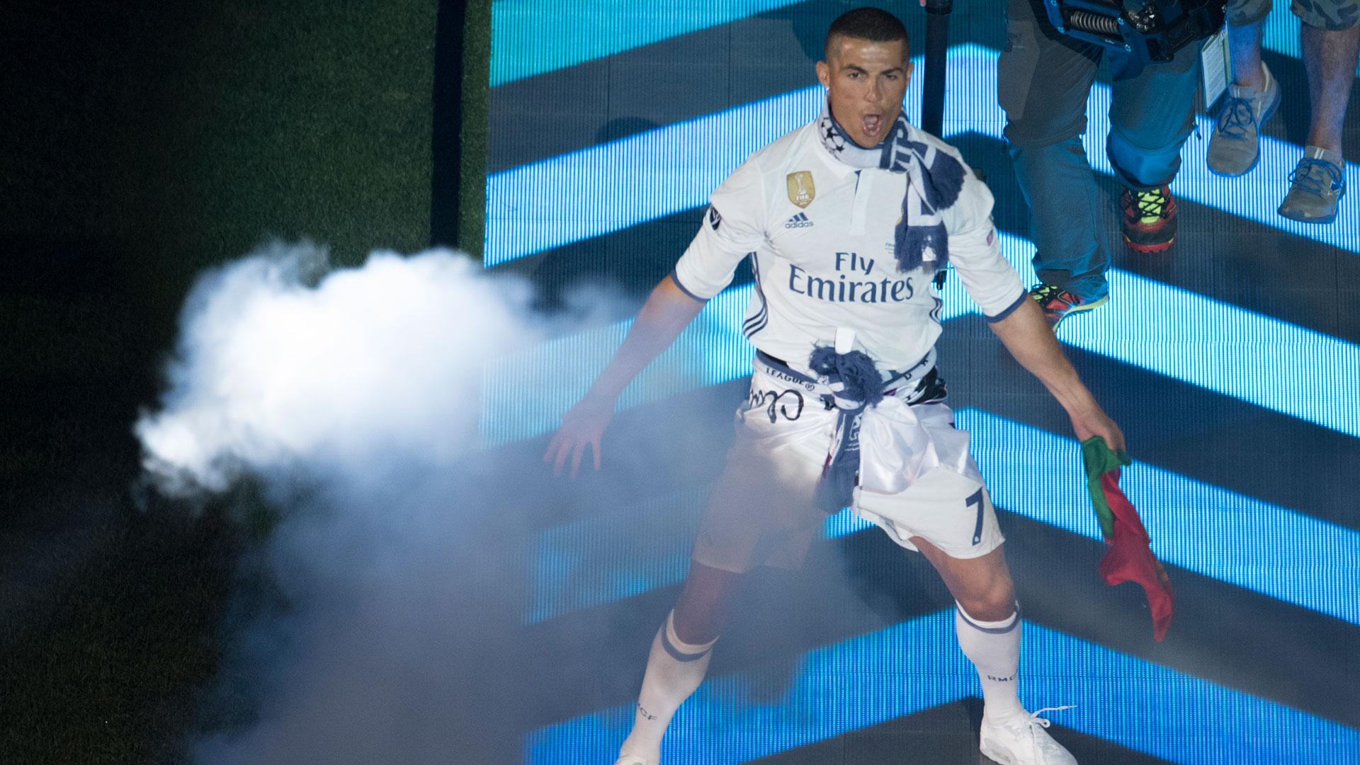 Cristiano Ronaldo marcó dos goles en la final