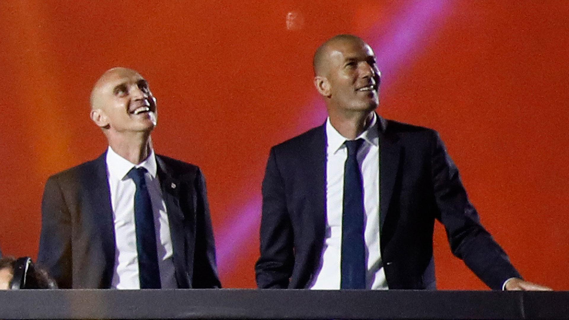 Desde su llegada, Zinedine Zidane ganó dos Champions League