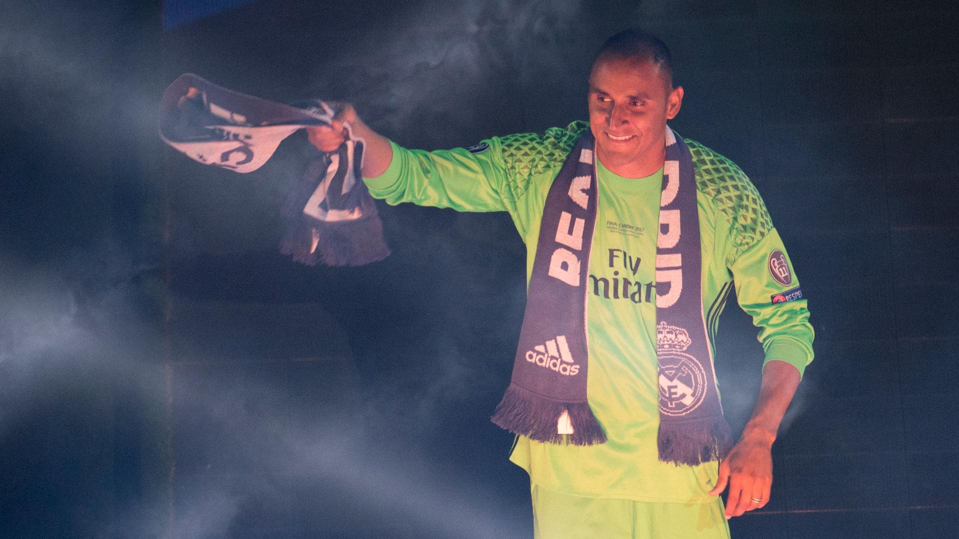 Keylor Navas, una de las figuras del Real Madrid