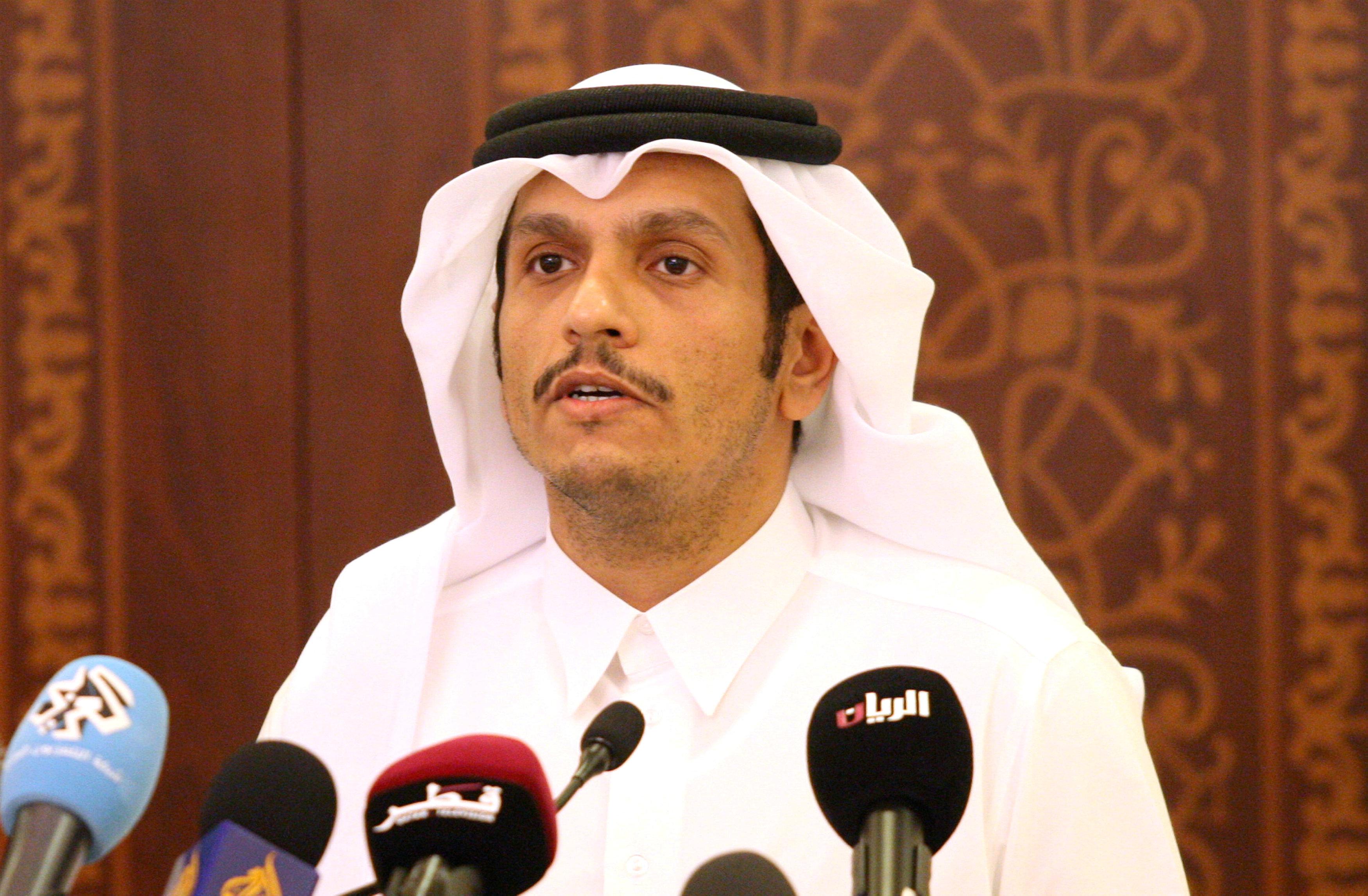 El canciller qatarí Mohammed bin Abdulrahman al-Thani (Reuters)