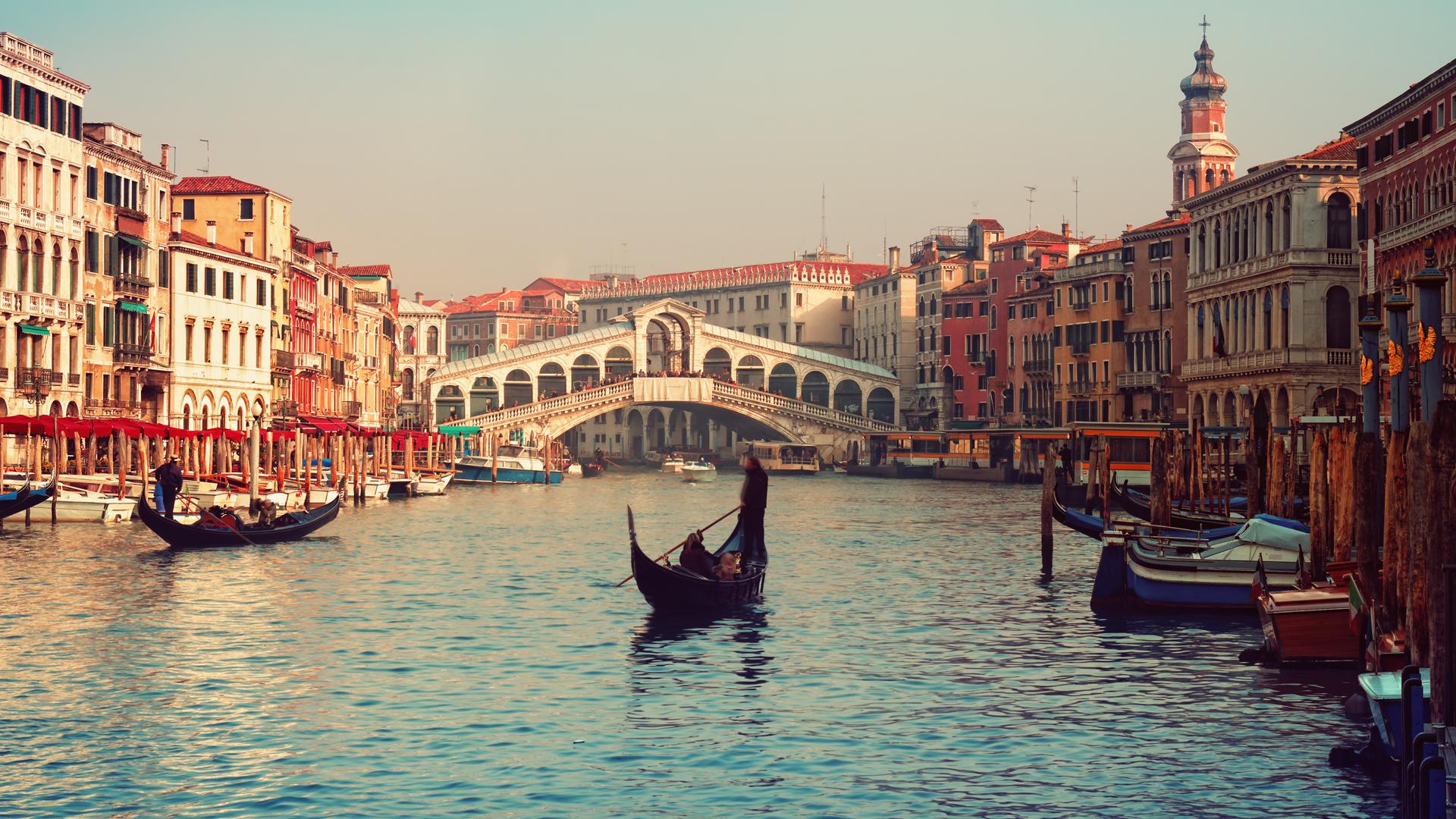 Venecia podría estar inundada en sólo unas décadas. (Istock)