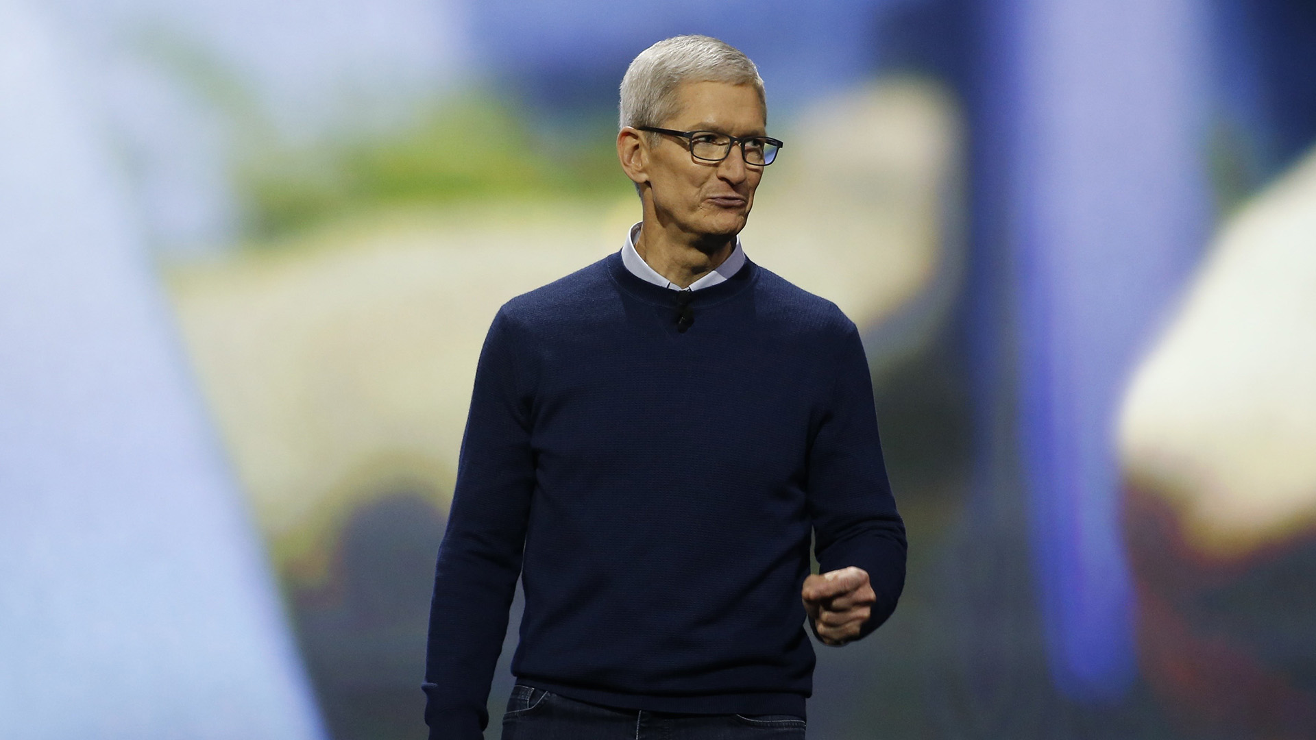 Tim Cook, CEO de Apple (REUTERS)