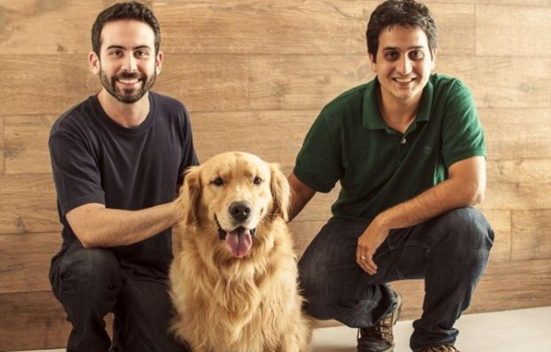 Fernando Gadotti y Eduardo Baer, fundadores de DogHero Brasil (Kaszek)