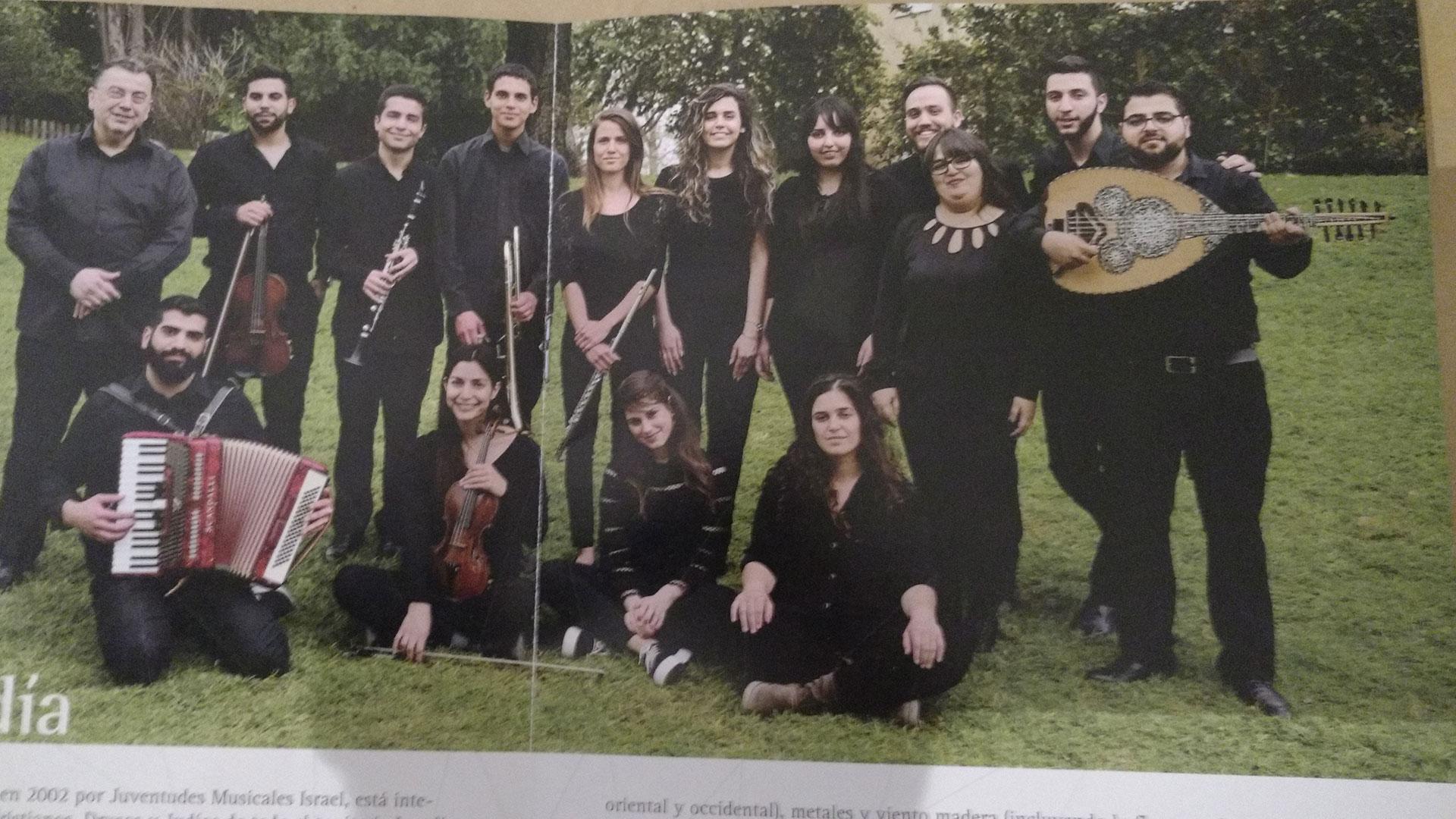 La Joven Orquesta Árabe Judía