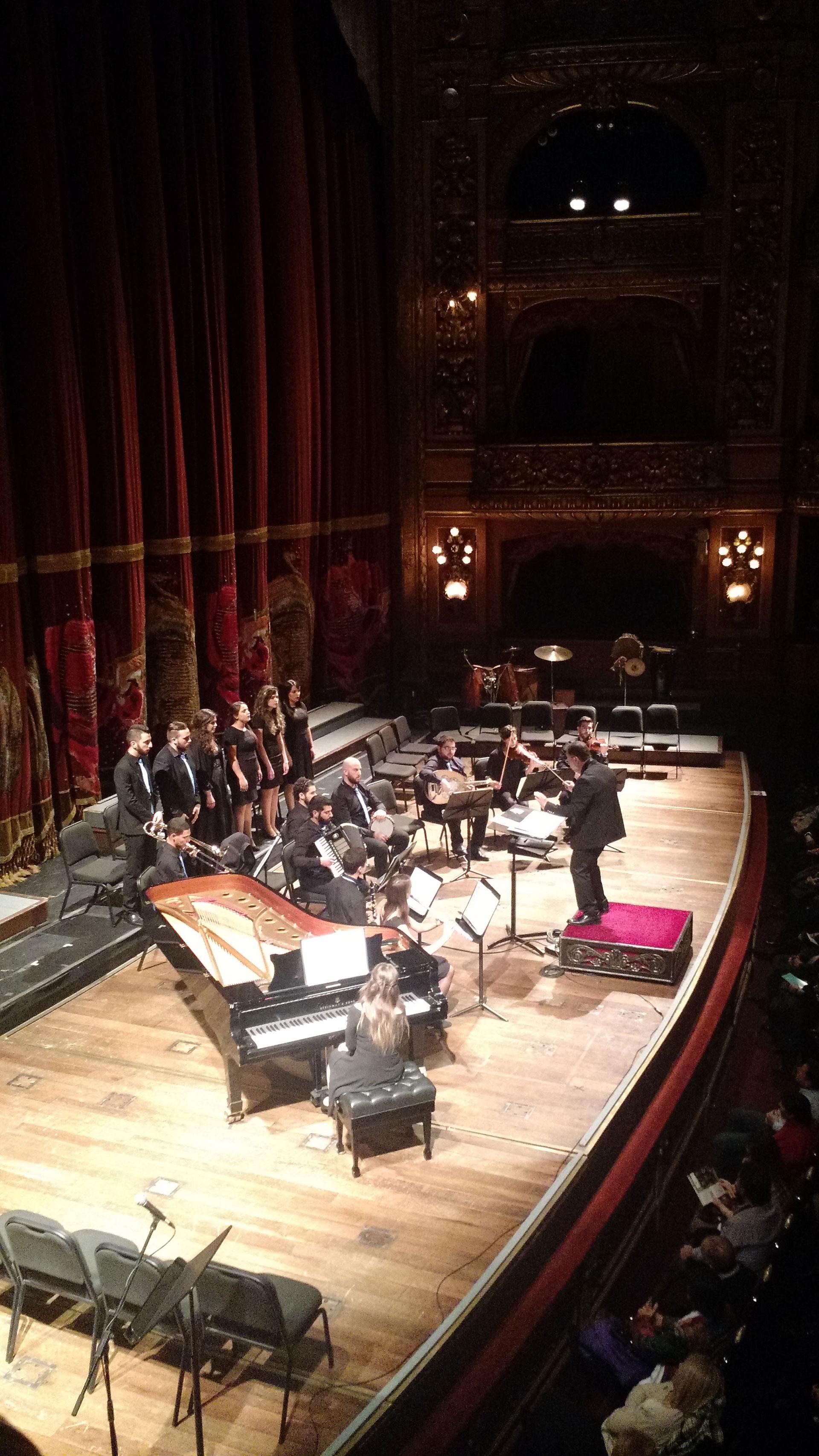 La Joven Orquesta Árabe Israelí en el Teatro Colón