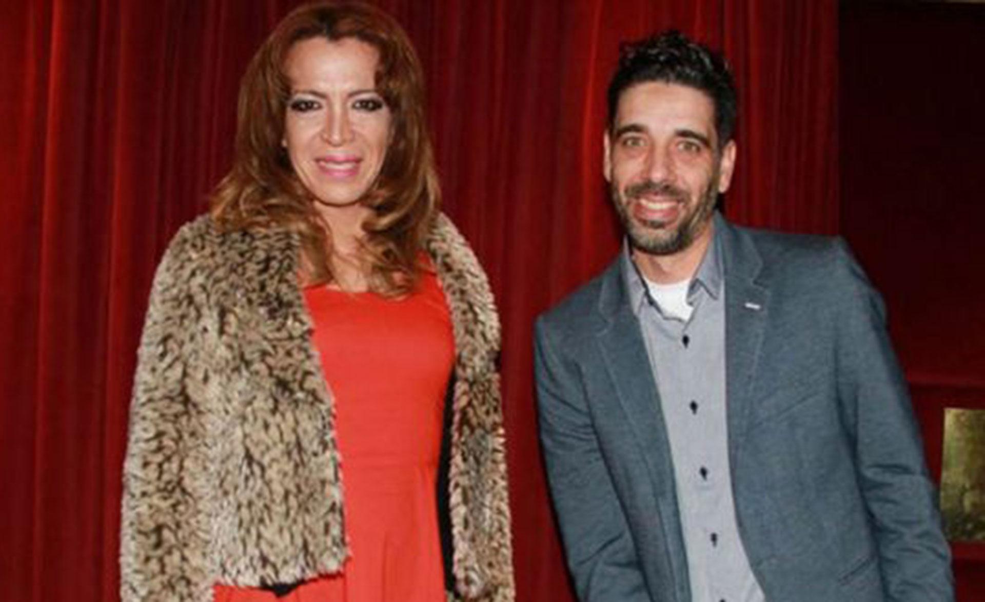 Lizy Tagliani y Lucas Tisera