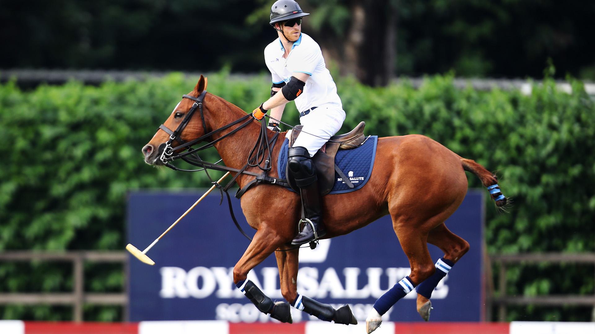 Harry es un gran deportista y, en esta oportunidad, reafirmó que también es un eximio polista