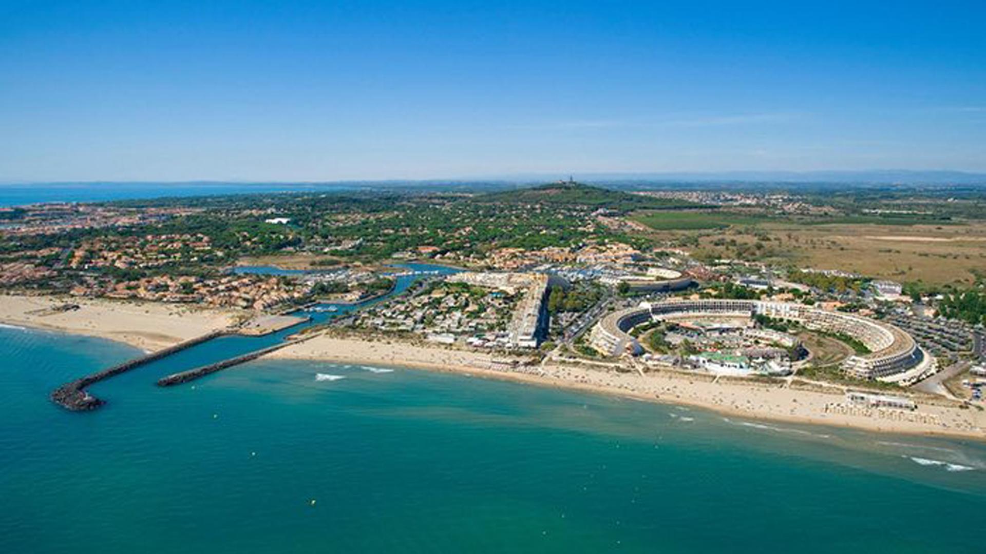 Cap d'Agde, a orillas del Mediterráneo