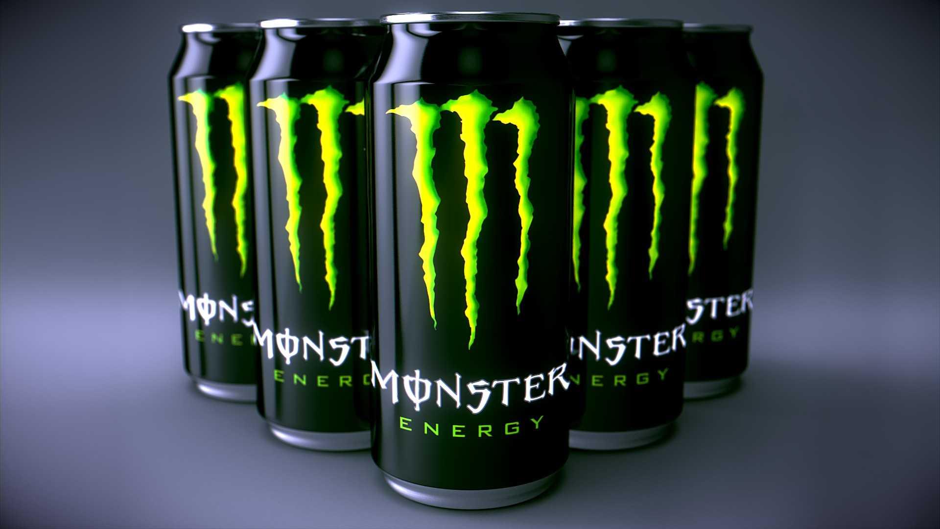 Una sola bebida energética del tipo Monster Energy, Red Bull, 5-Hour Energy y Rockstar puede contener muchas veces la cantidad decafeína deuna taza de café.