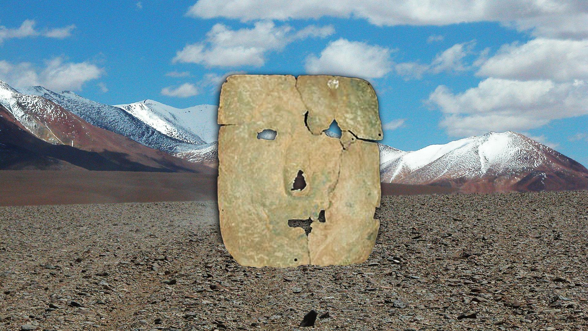 """La """"máscara de hierro"""" podría generar un cambio de paradigma en la historia precolombina"""