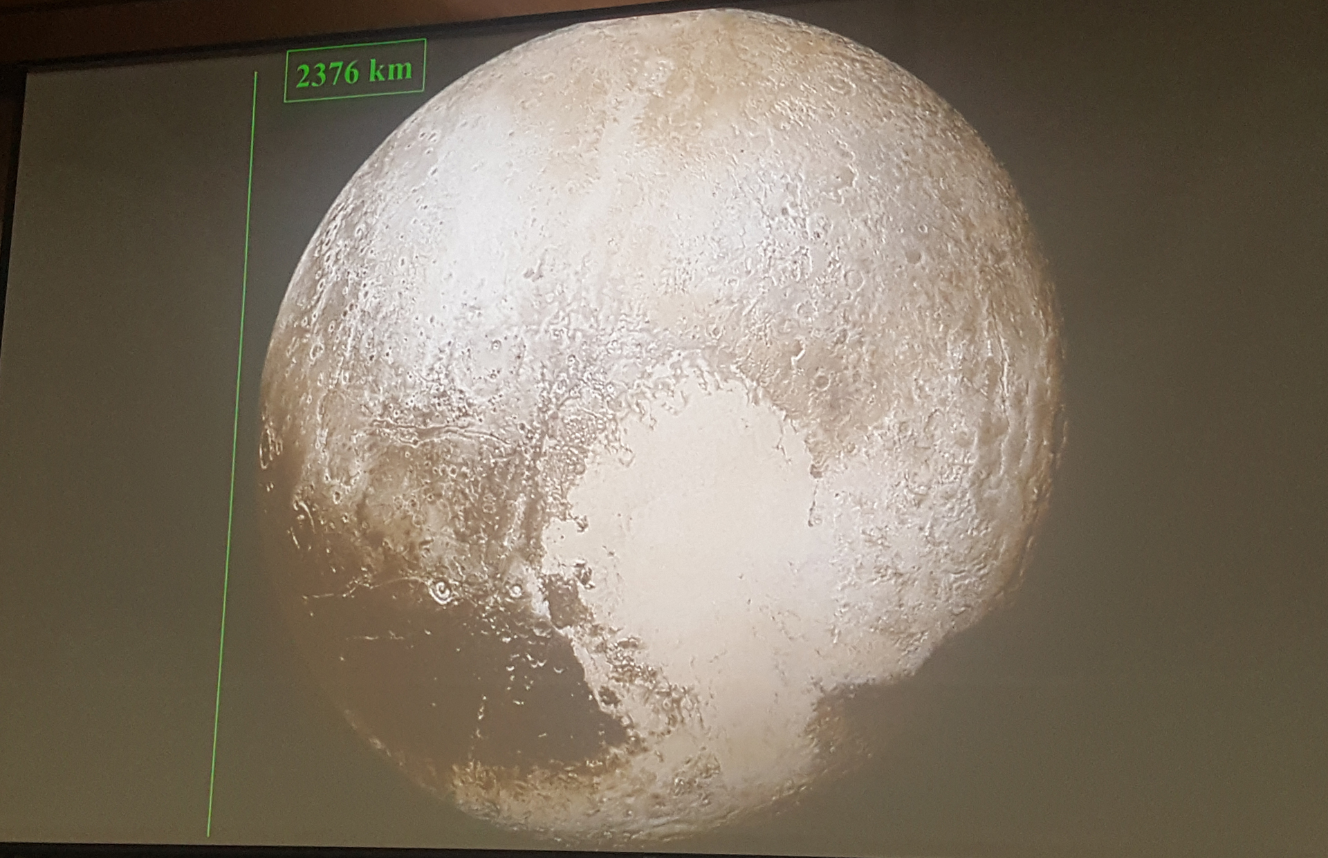 La nueva imagen lograda de Plutón