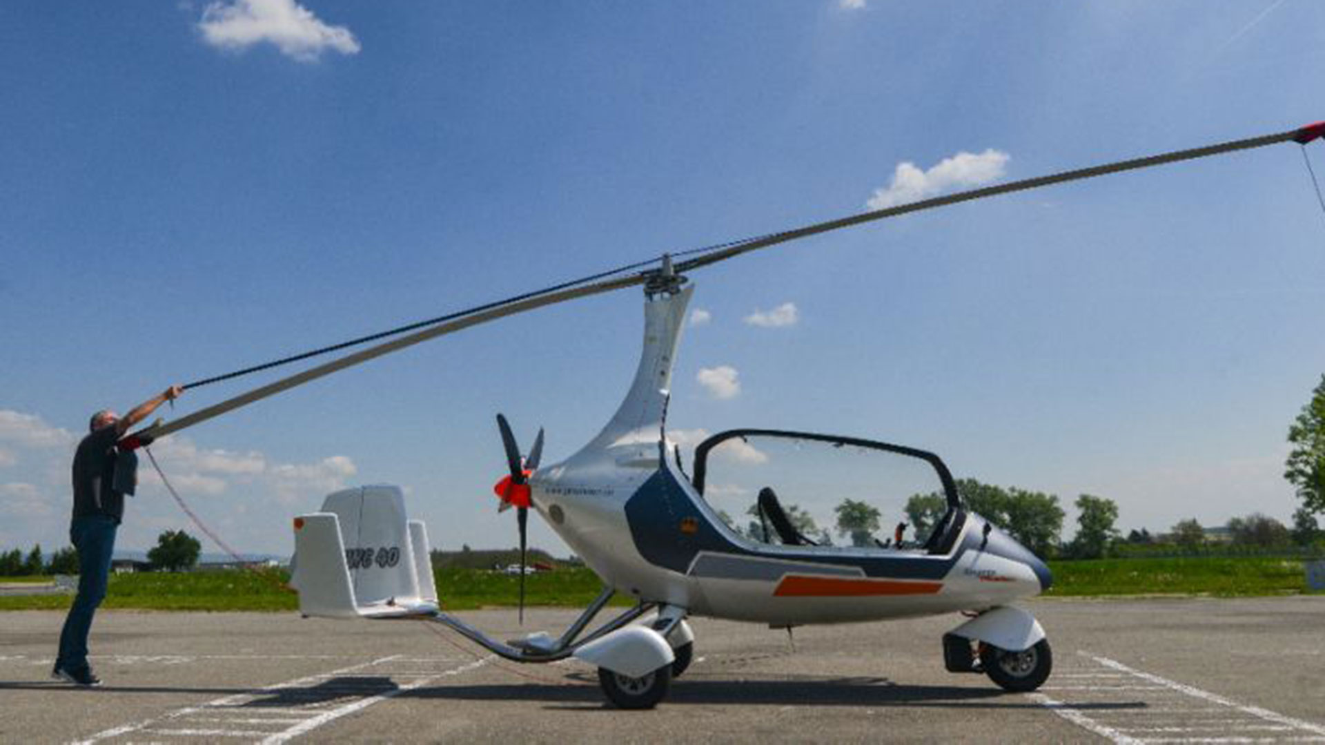 GyroDrive, el girocóptero terrestre
