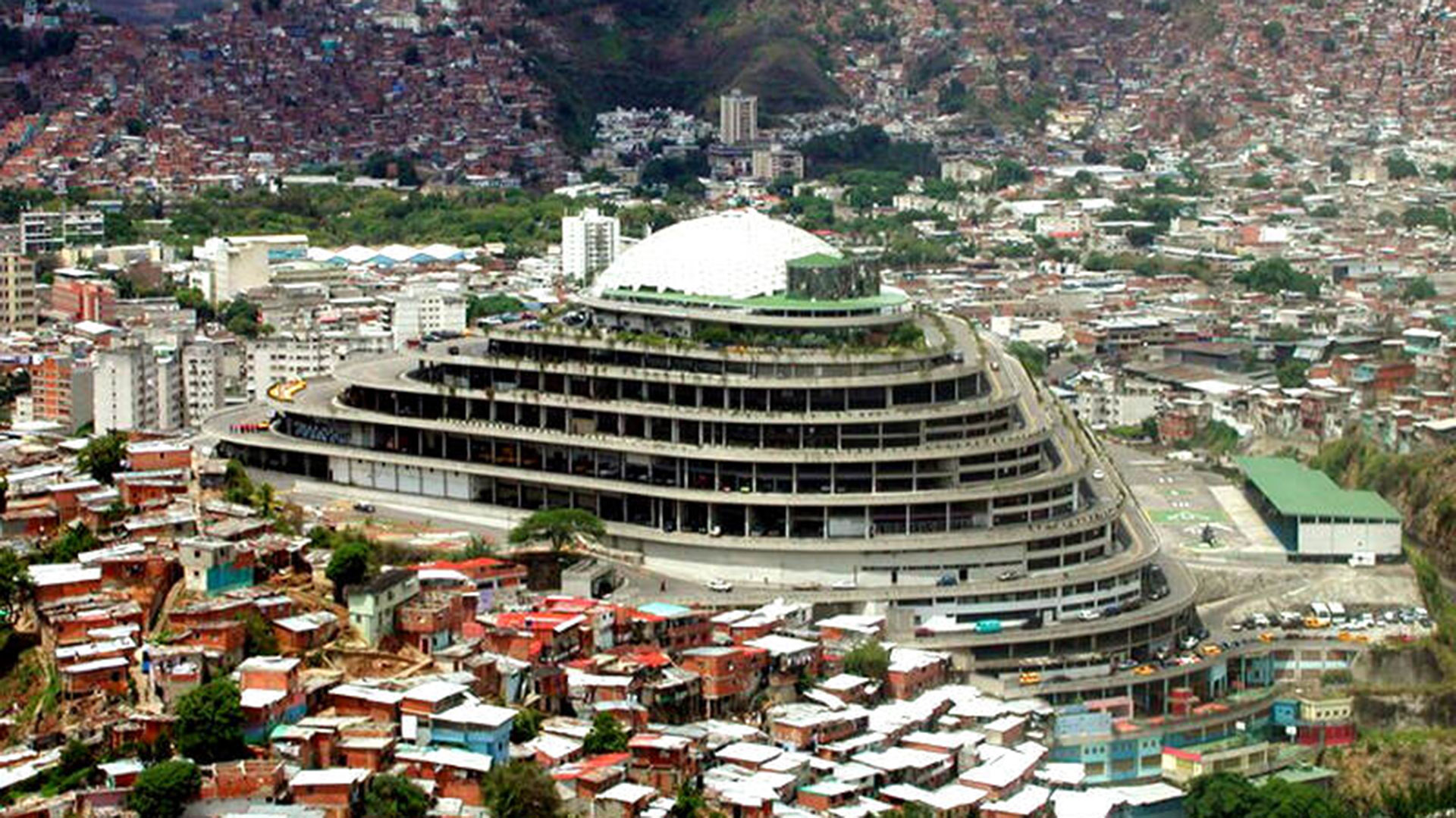 El Helicoide, sede del SEBIN (Servicio Bolivariano de Inteligencia) en Caracas