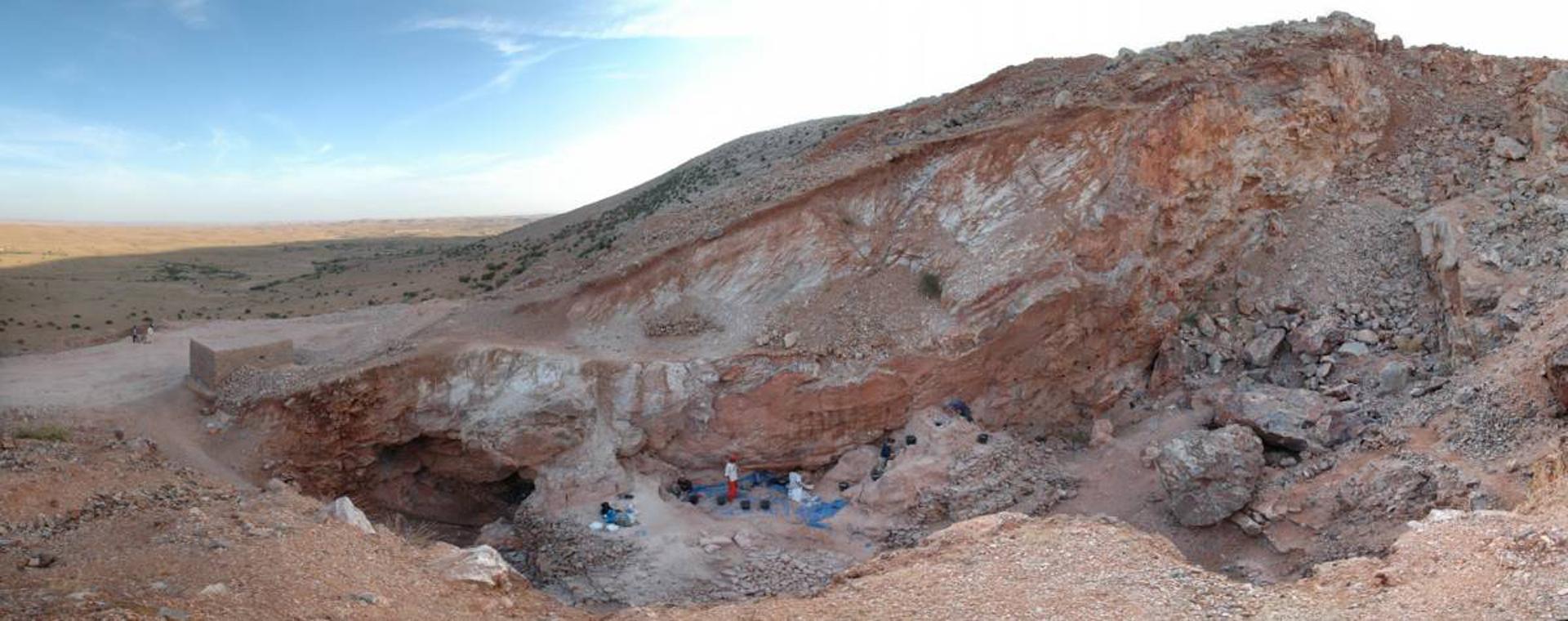 El yacimiento de Jebel Irhoud, en Marruecos