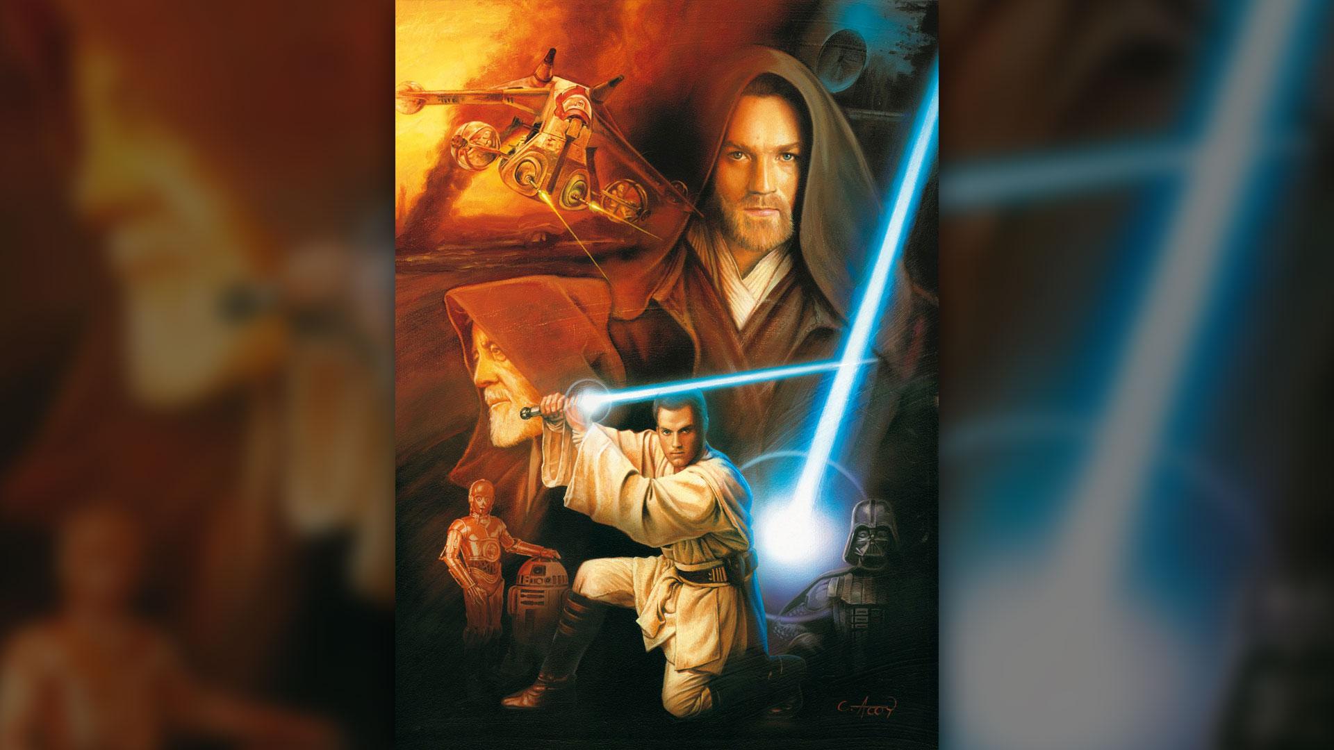 La ilustración de Claudio Aboy que hoy es parte de la colección personal de George Lucas
