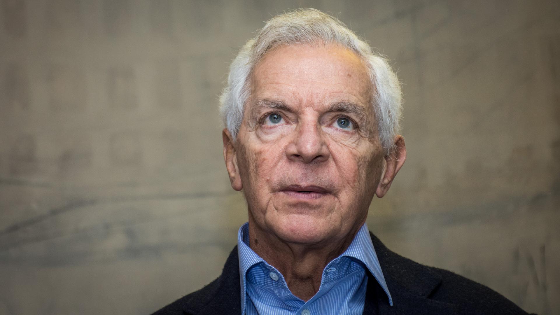 Eduardo Costantini piensa cada palabra, acorde con el difícil cuadro socioeconómico y política que arrastra la Argentina desde hace 70 años