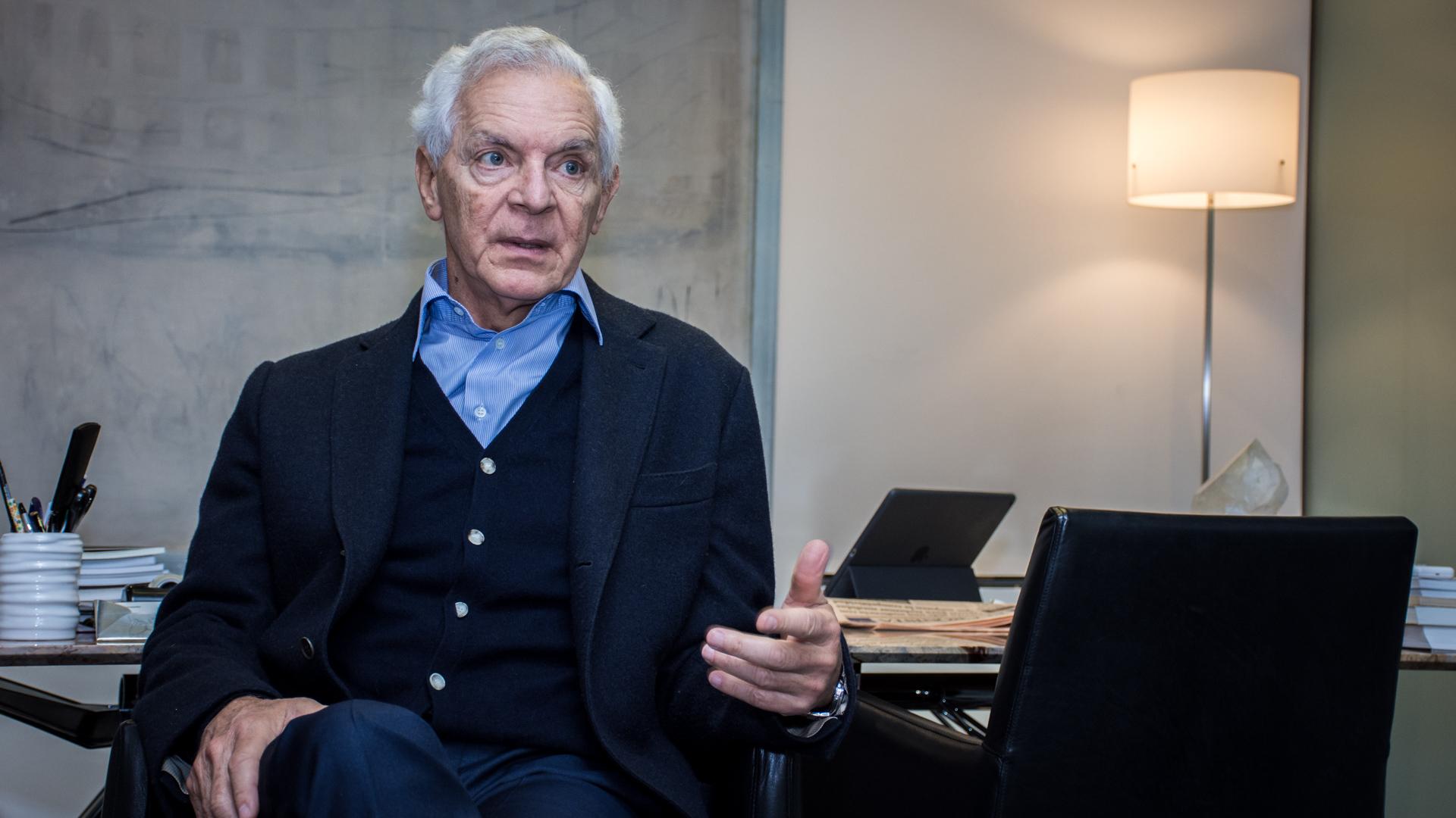 Eduardo Costantini diferenció el comienzo del Gobierno de Cambiemos de los de la salida de la hiperinflación y de la crisis de la convertibilidad en 2001 (Martín Rosenzveig)