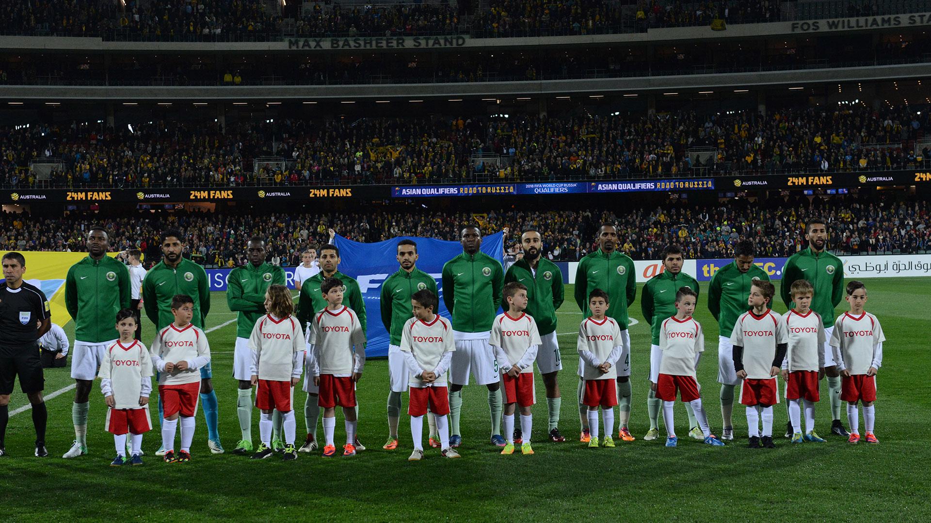 Selección deArabia Saudita