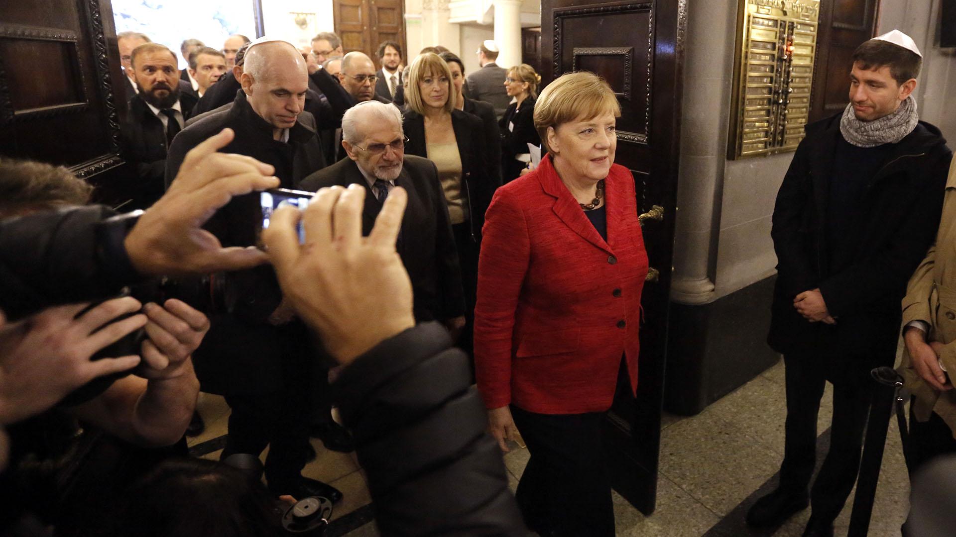 Merkel elogió a Macri: