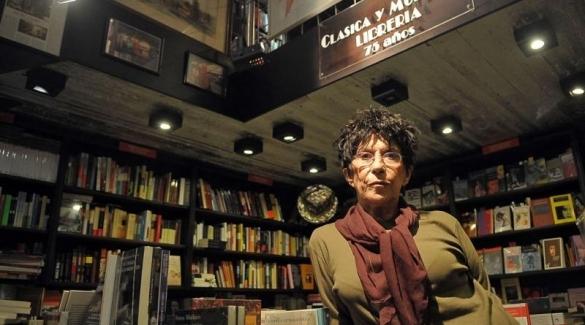 Natu Poblet falleció este jueves a los 79 años, la misma edad de la librería