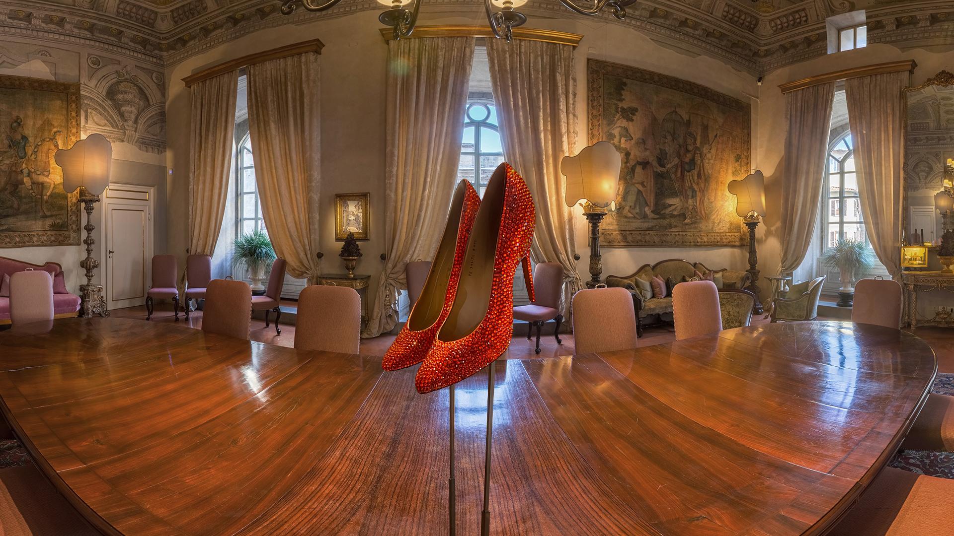 Los zapatos realizados por Salvatore Ferragamo de Marilyn Monroe