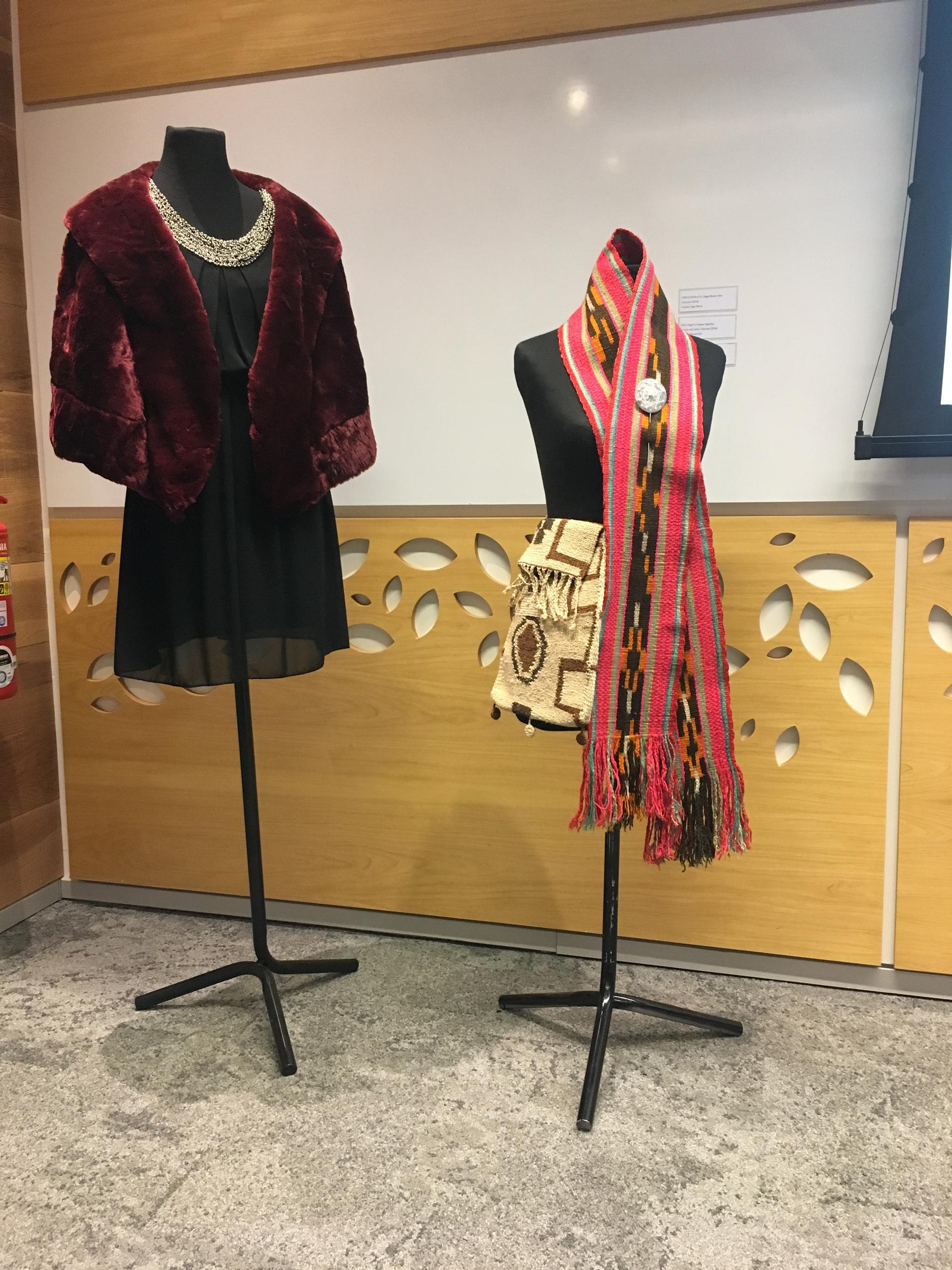 Piezas de diseño exhibidas en el Museo de Arte Popular José Hernandez