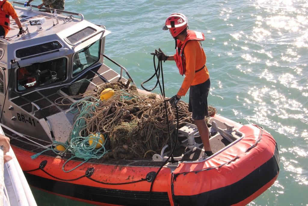 Las redes de enmalle que se usan para cazar otras especies ahogan a la vaquita marina (Foto: Archivo)