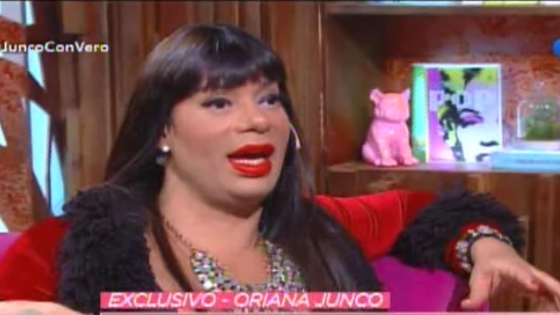 """Oriana Junco pagó una fianza de 10 mil pesos y recuperó la libertad, luego de estar detenida 23 días. """"La Policía me cag… a trompadas"""", dijo en una entrevista con """"Cortá por Lozano"""""""