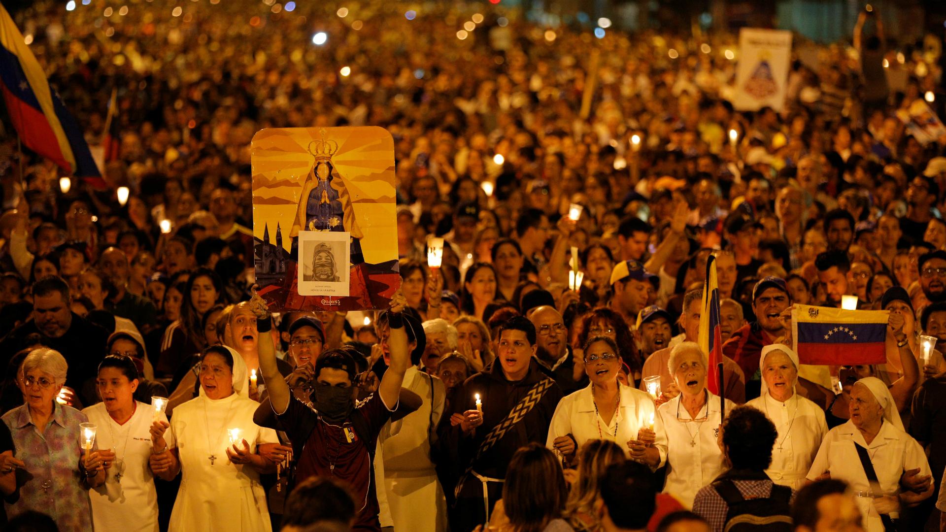 Miles de personas recordaron al joven que murió a manos de la represión chavista
