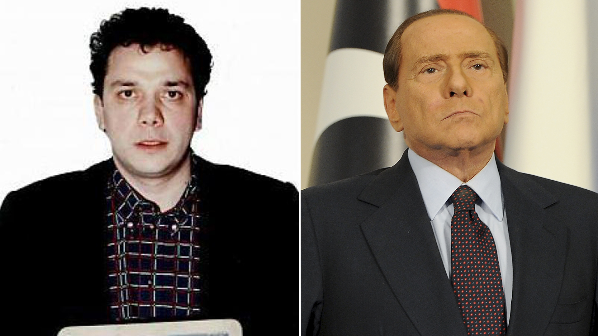 Giuseppe Graviano y Silvio Berlusconi