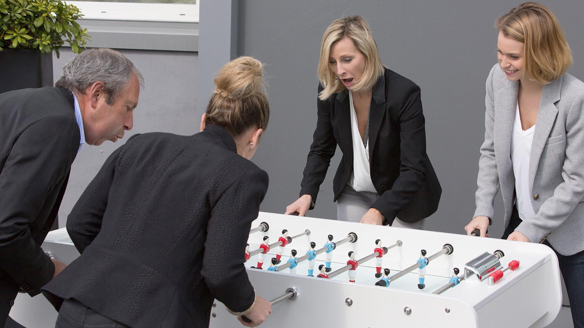 Cada vez más empresas amplían sus oficinas con múltiples espacios de esparcimiento (IStock)