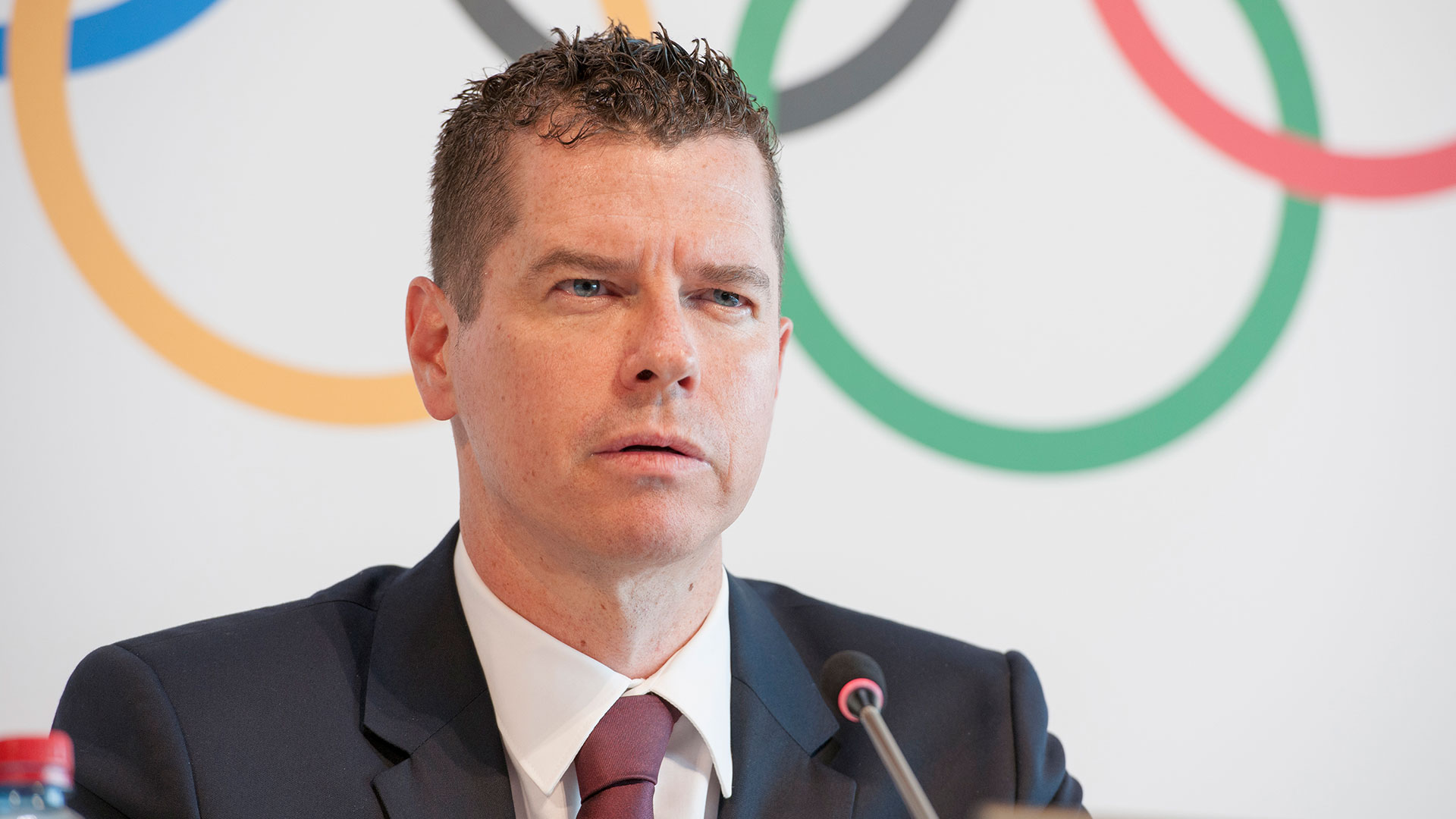 Kit McConnell, director de Deportes del COI, anunció los cambios en la programación (COI)