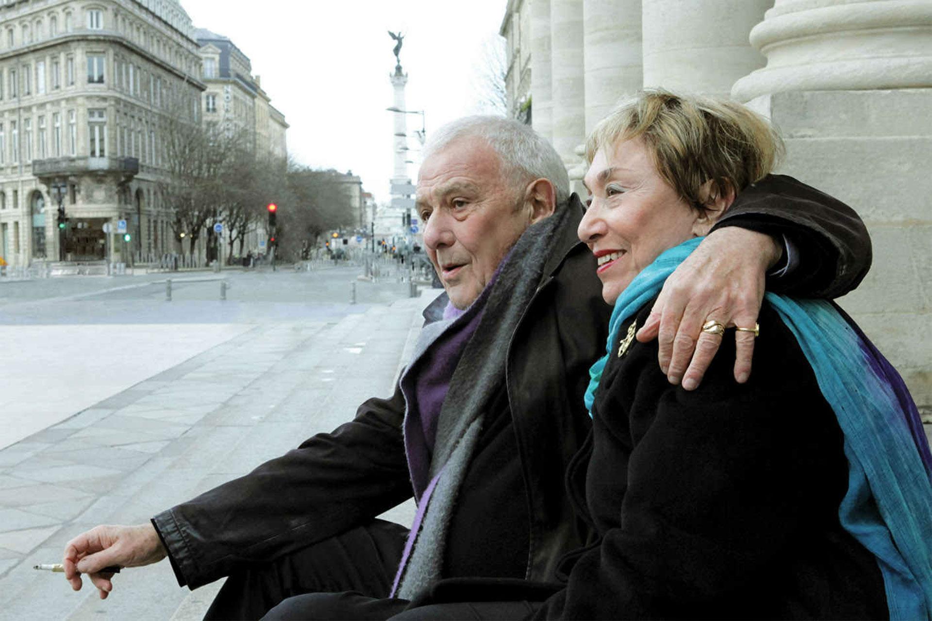 Julia Kristeva y Philippe Sollers