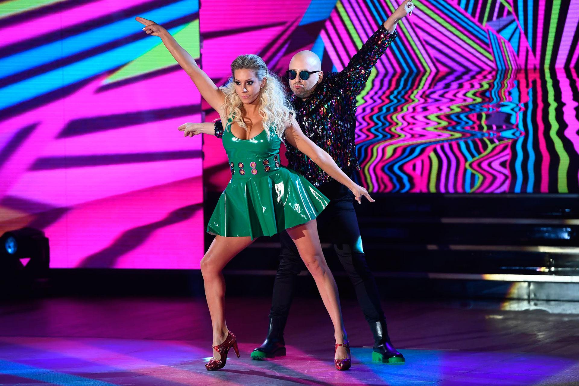 """José María Muscari y Noelia Marzol debutaron en el """"Bailando"""". La participante reconoció que habló con Fabián Cubero, tras los rumores de un supuesto affaire entre ellos"""