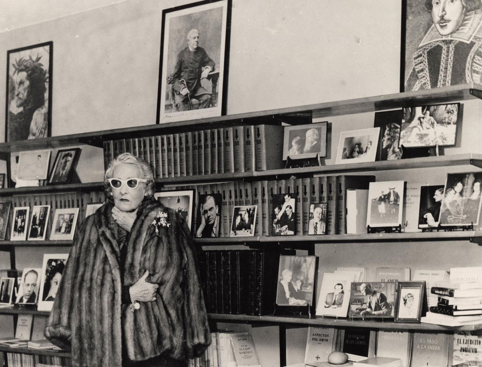 La casa de la escritora fue el espacio que dio vida a la revista Sur