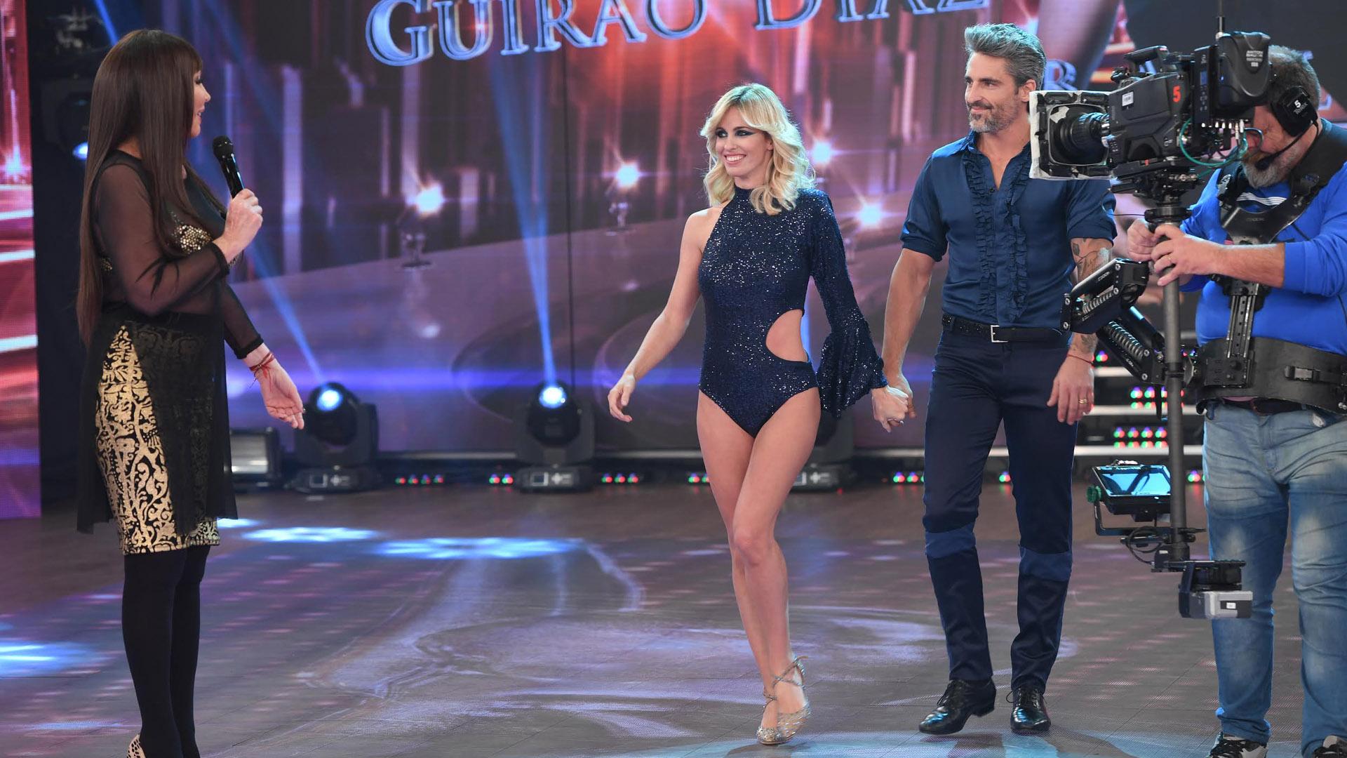 Moria Casán y Guirao Díaz – Bailando 2017