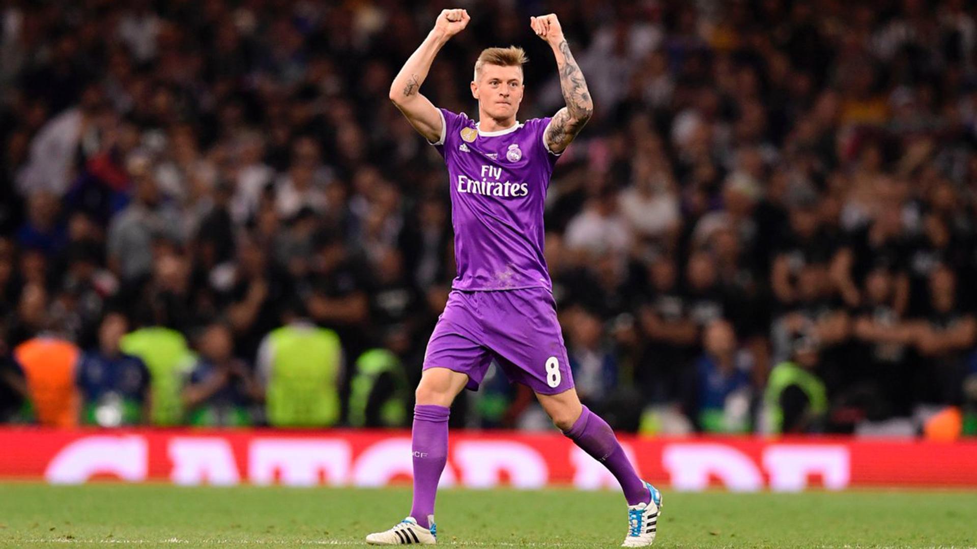 """(@OptaJose) El alemán consiguió la """"duodécima"""" con el Real Madrid"""