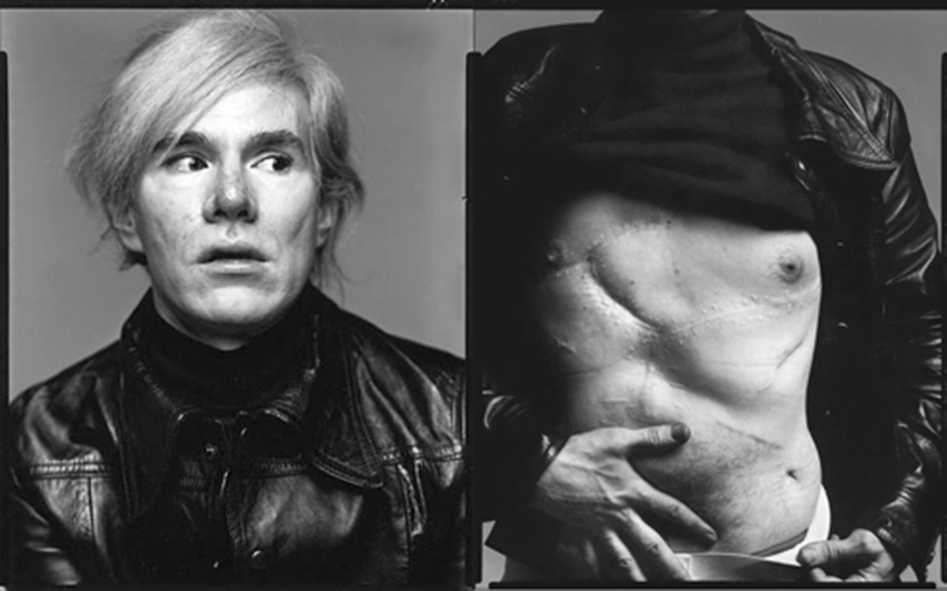 Warhol mostró sus cicatrices ante la lente de Richard Avedon