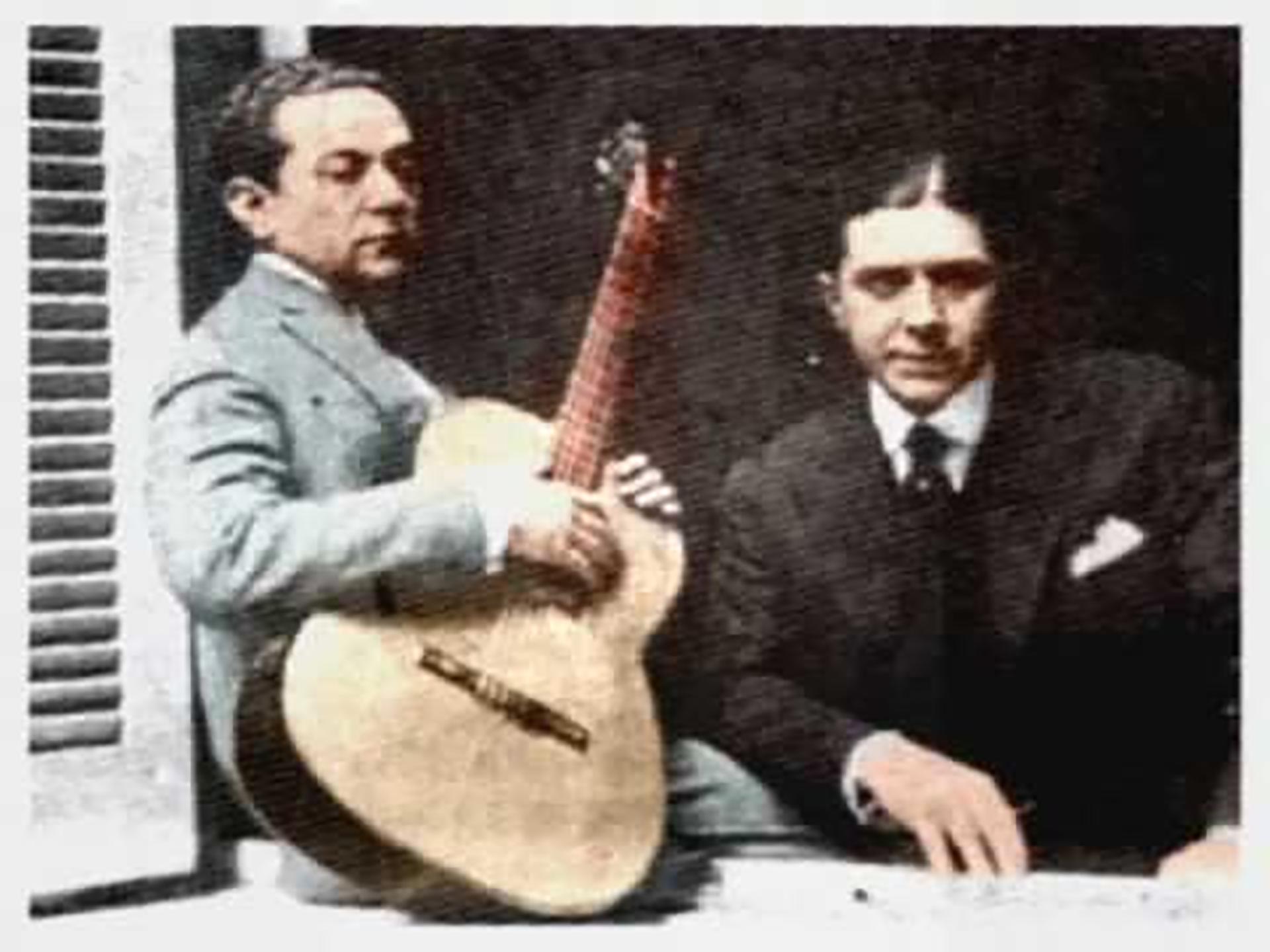 """Gardel – Razzano. """"La historia del tango no es concebible sin la presencia de Carlos Gardel""""."""