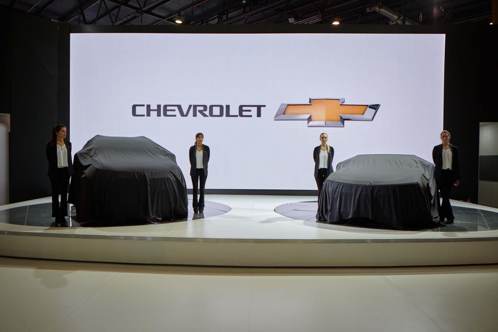 Chevrolet Argentina presente en el 8vo. Salón Internacional del Automóvil (GM)