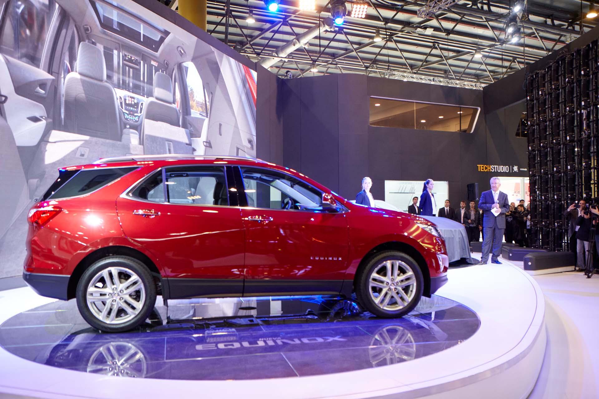 Una de las novedades del Salón del Automóvil: la SUV Chevrolet Equinox (GM)