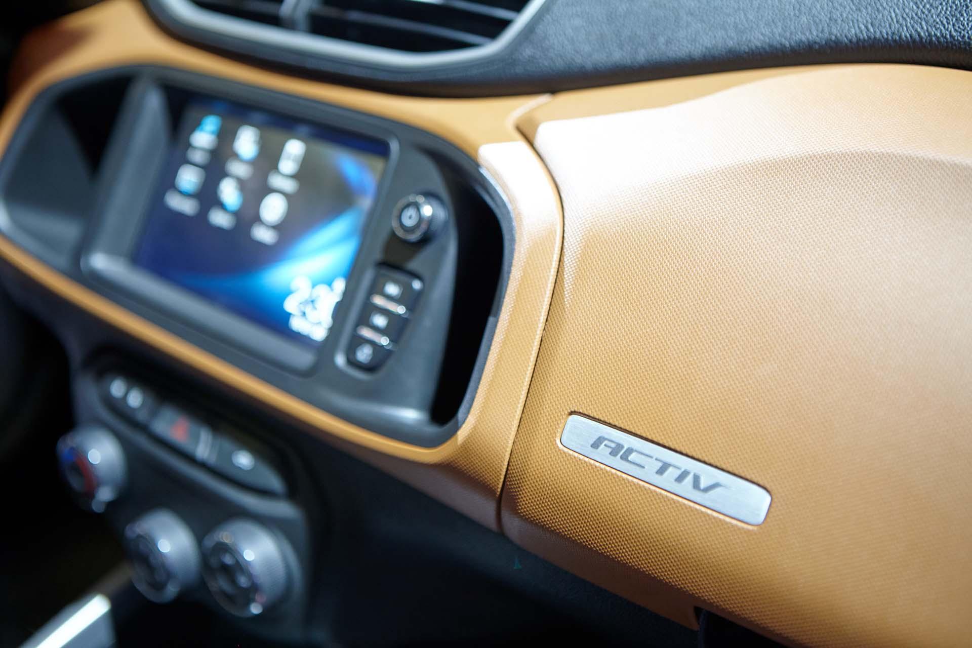 Chevrolet Onix Activ, con un diseño off road, agresivo y juvenil (GM)