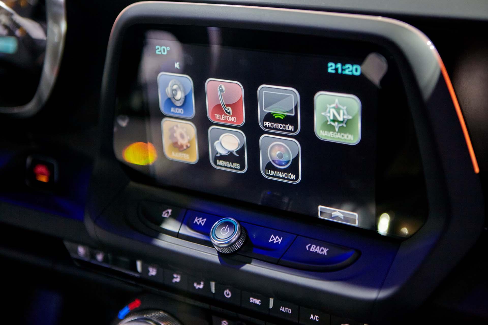 MyLink, el sistema de entretenimiento de Chevrolet (GM)
