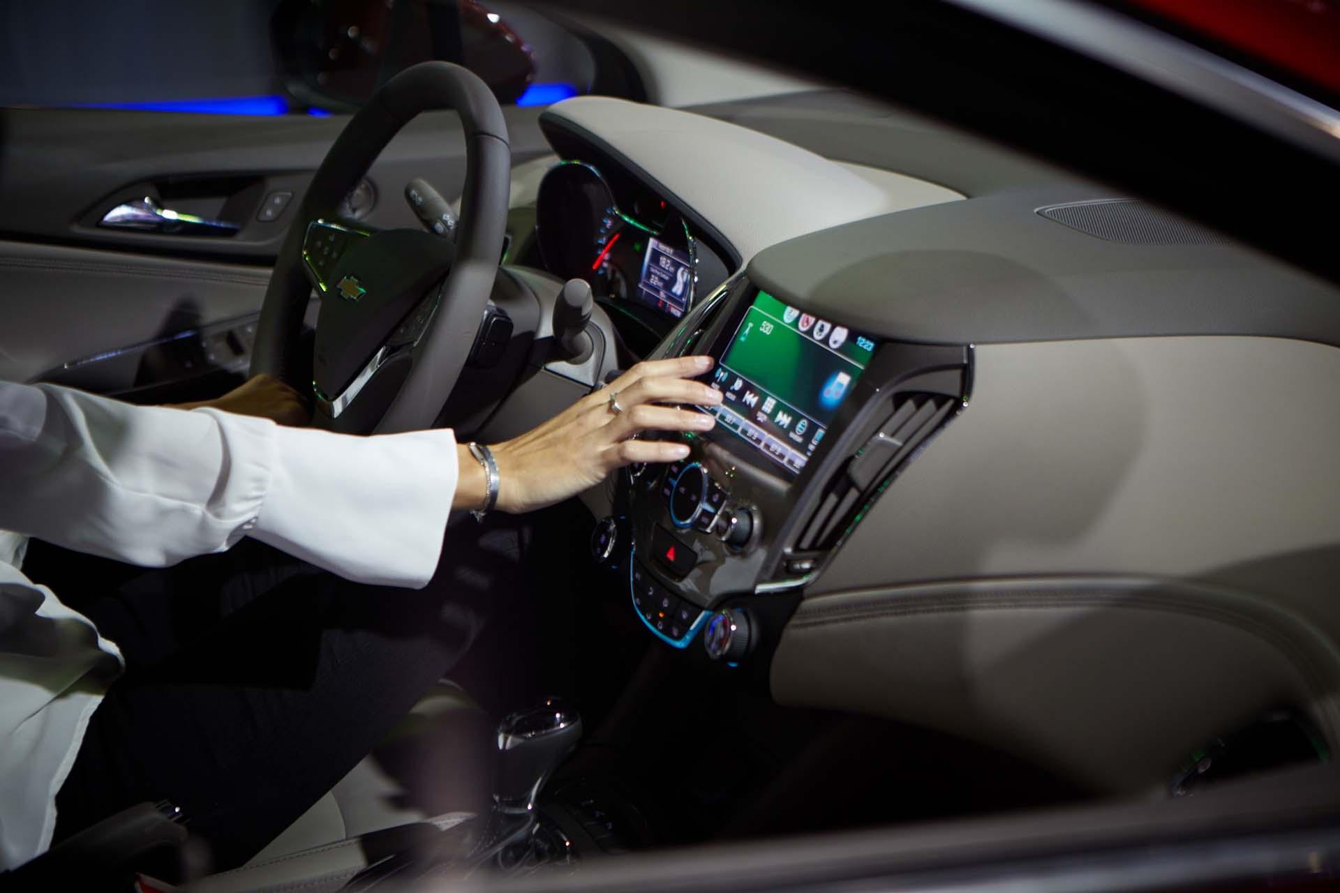 El nuevo Chevrolet Camaro SS posee Parlantes Bose y sistema multimedia (GM)