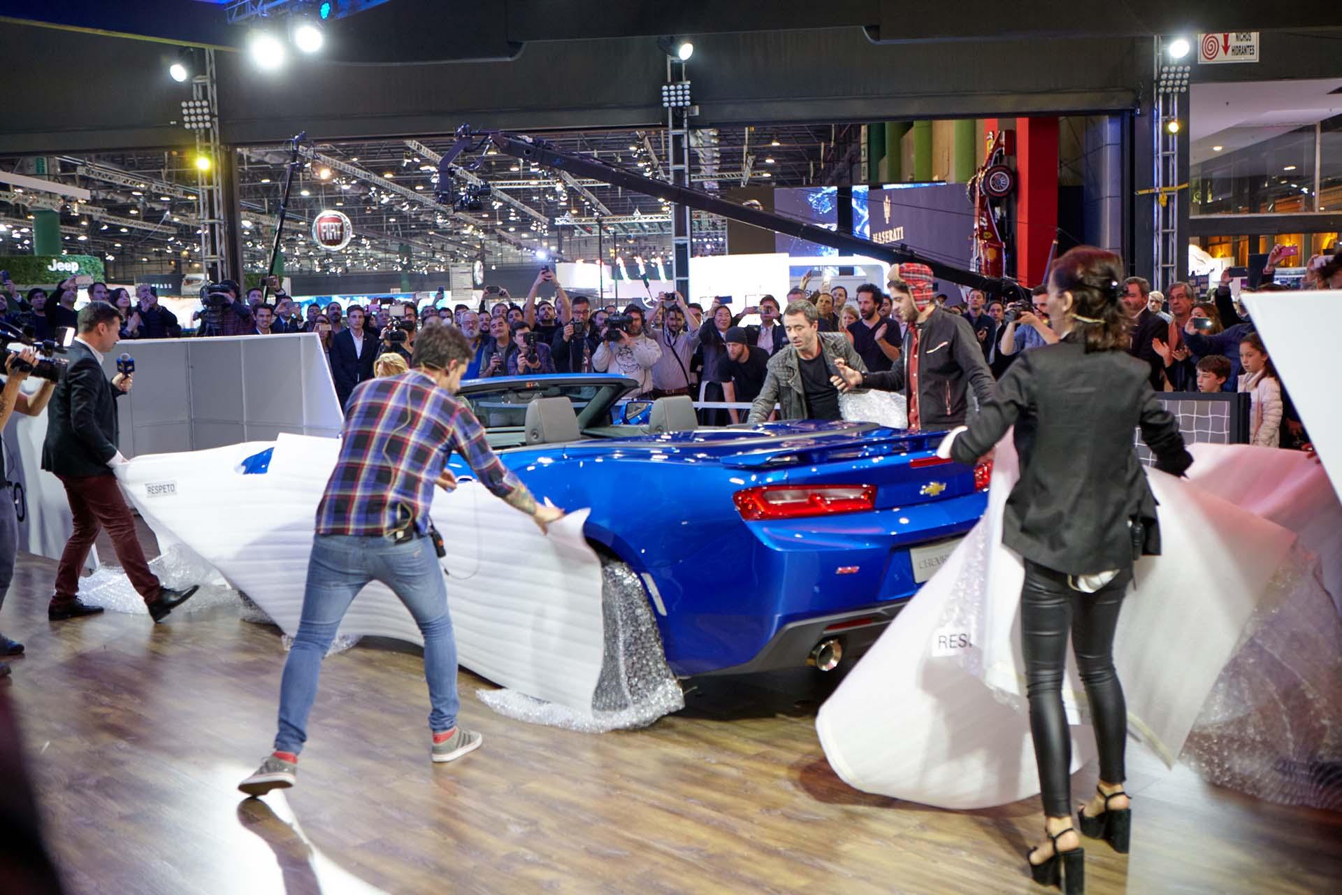 Presentación oficial del nuevo Chevrolet Camaro SS Coupé (GM)