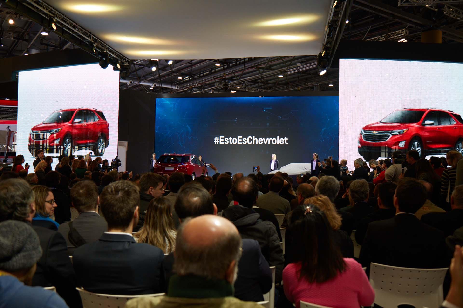 Presentación #EstoEsChevrolet (GM)