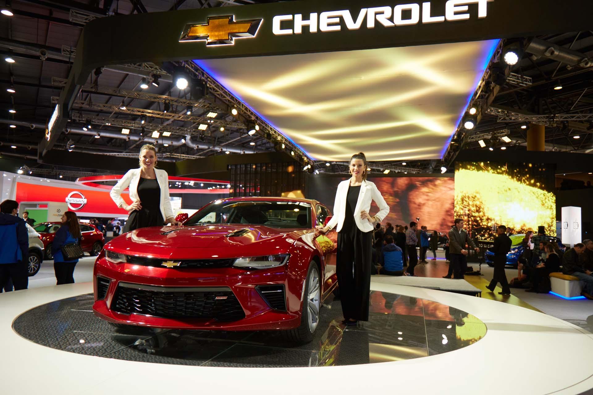 El imponente Chevrolet Camaro (GM)
