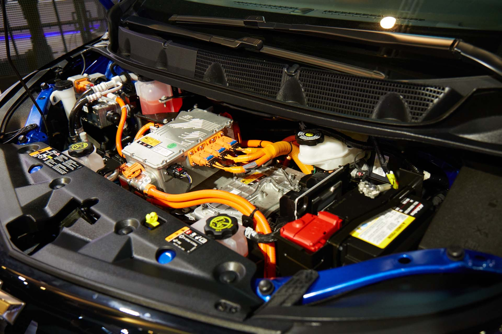 Chevrolet exhibe el Bolt, el vehículo eléctrico más innovador (GM)