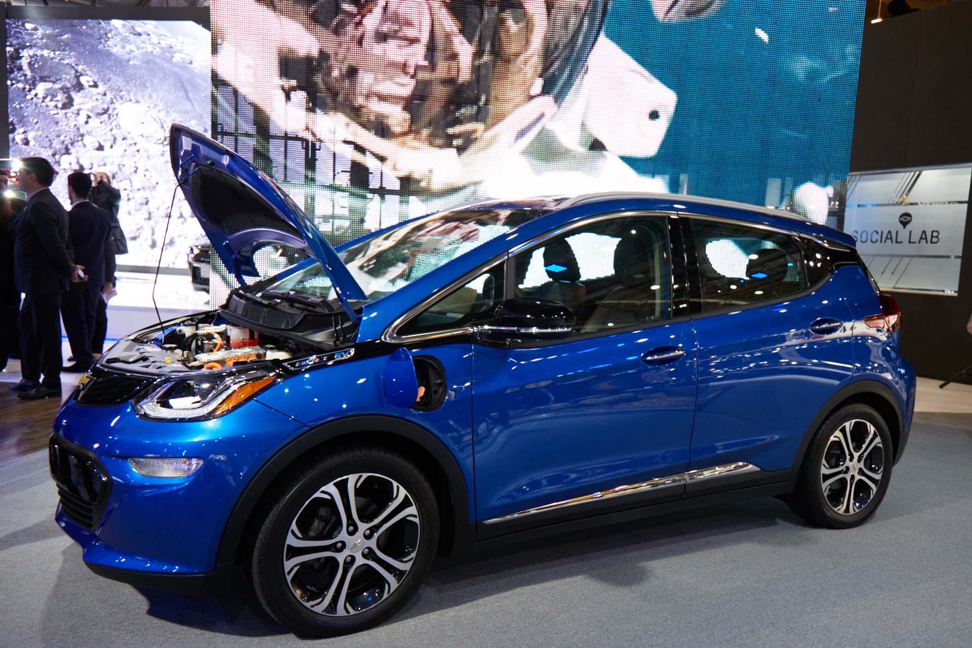 El nuevo Chevrolet Bolt EV (GM)