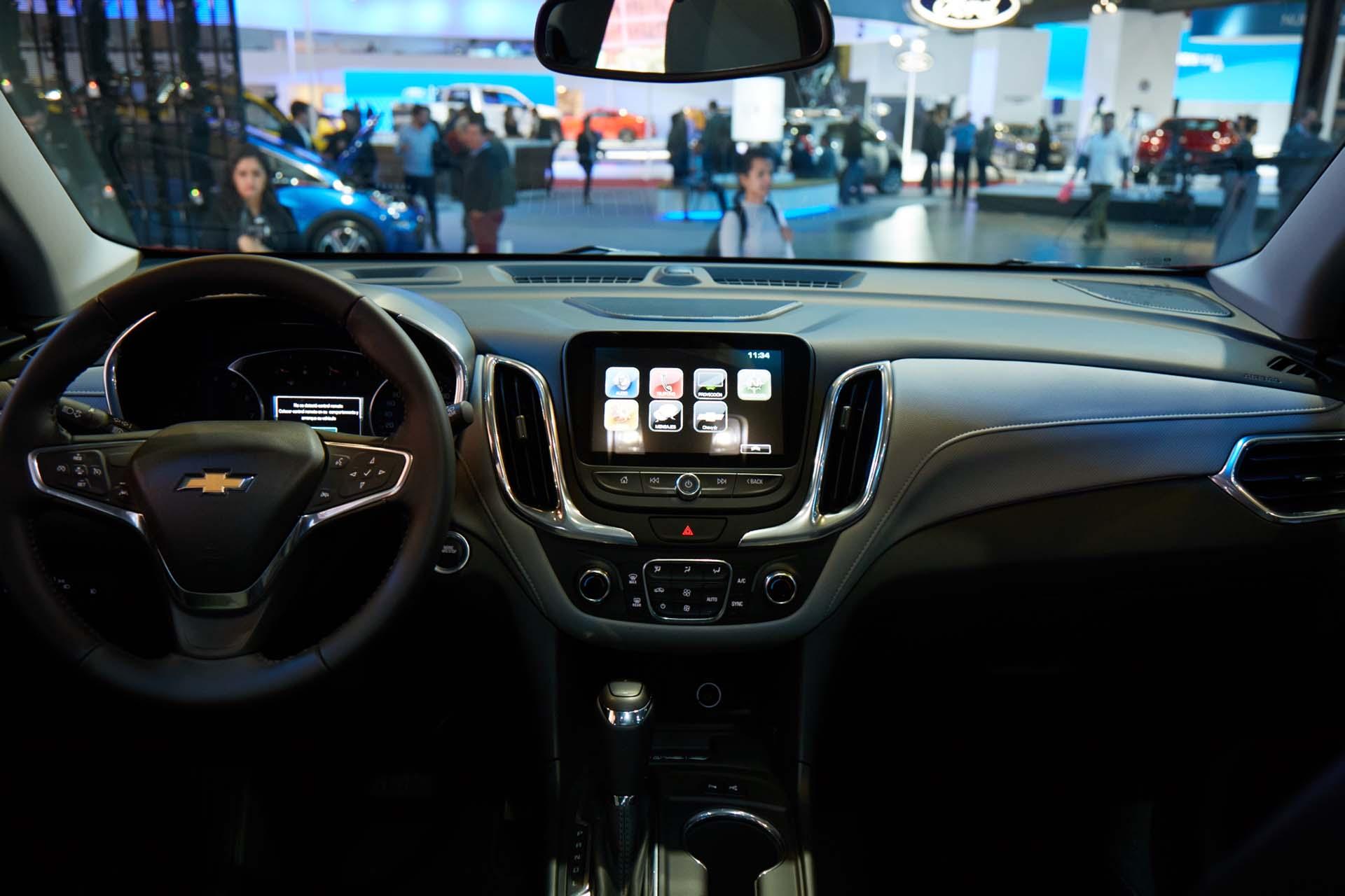 La Chevrolet S10 trailboss concept y su tecnología MyLink (GM)